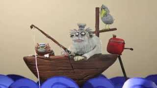 Something Fishy - Funny Animation with Accordéon Mélancolique