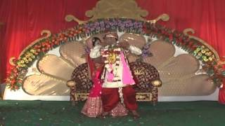 Couple dance perfomance by Bride (Abhisuchi) & Groom (Sajan)