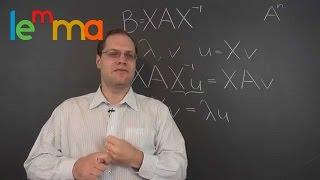 Linear Algebra 16k: Eigenvalues, Eigenvectors and the Similarity Transformation