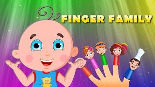 Finger Family   Nursery Rhymes for Children   Daddy Finger Kids Songs