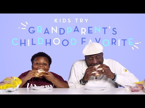Kids Try Their Grandparent s Childhood Favorite Food Kids Try HiHo Kids