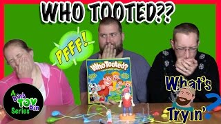 Who Tooted?!? Funny Farting Board Game | What's Ryan Tryin' | Bin's Toy Bin