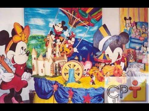 Curso Montagem e Decoração de Festas Infantis Cursos CPT
