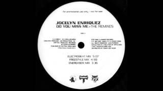 """Jocelyn Enriquez - Do You Miss Me (Freestyle Mix) 12"""" The Remixes US 1996"""
