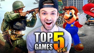 🎮 TOP 5 GAMES YOU CANNOT MISS IN 2017! 🎮