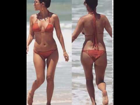 Sunny Leone Big ASS in  bikini in public