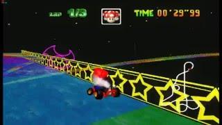 4K DX12 Mario Kart 64 HD Remastered V2 (HD Textures,,AO,Bloom,ssao,ssgi, etc using Ishiiruka)