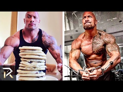 Dwayne Johnson s INSANE Diet and Workouts That Make Him RIPPED