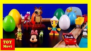 SURPRISE Cars Minnie Maus Deutsch Pokemon Peppa, Mascha i Medved, Spongebob, - Kinderfilm