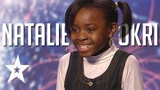 10 Year Old Natalie Okri's Alicia Keys Cover Amazes The Judges | Got Talent Global