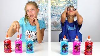 Twin Telepathy Slime Challenge!!!!!