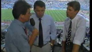 Argentina - Germany World Cup Final 1990 Pre-Game (English)