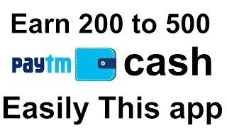 How to earn 200-500 Rs Paytm Cash Easily (TaskBucks app)