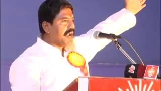 Ishwar Singh Thakur Bold Speech Against Akbaruddin Owaisi and MIM -in Adilabad(AP)