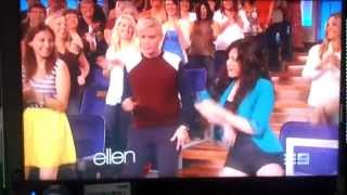 Julie Anne San Jose caught by the camera at The Ellen Show