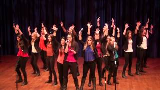 MSU Ladies First sing at the 2015 ICCA Great Lakes Midwest Quarterfinals