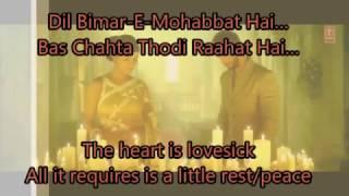 Aaj Ro Len De with English Translation FULL SONG   1920 London (2016)   Shaarib Sabri