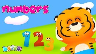 Numbers Song - Dazoo - Kids Star Channel