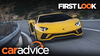 2017 Lamborghini Aventador S First Look review | CarAdvice