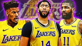 What's Next For The Los Angeles Lakers!? The Anthony Davis Trade - Kyrie Irving Next?
