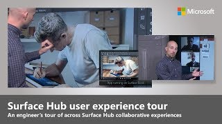 An engineer's tour of Microsoft Surface Hub user experiences