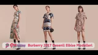 Burberry 2017 Desenli Elbise Modelleri #SenFarklısın