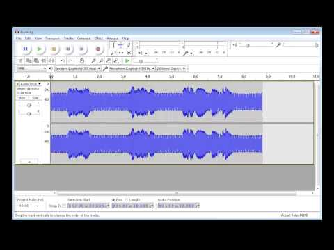 How to clean audio with Audacity: Noise Removal, Normalise and Compressor