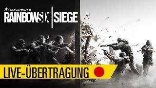 Rainbow Six:Siege Talk&Play mit: BLACKMäh, Lulatschman, Mylo, Wintex.Dero und Verdipwnz|Ubisoft [DE]