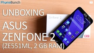 Asus Zenfone 2 (2GB RAM) Unboxing and Hands-on Overview