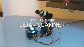 Arduino-based LIDAR Scanner