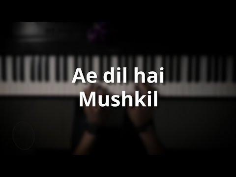 موسيقى بيانو Ae dil hai mushkil عزف علي الدوخي
