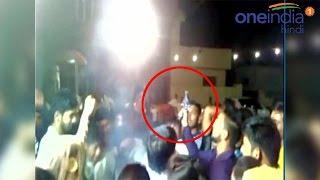 Groom injured in firing during wedding in Haryana, watch video | वनइंडिया हिन्दी