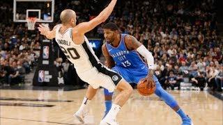 Thunder Blew 23 Point Lead vs Spurs! Wild Finish at Buzzer! 2017-18 Season