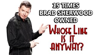 15 Times Brad Sherwood Owned