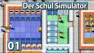 Academia School | Der Schul Simulator ► Prison Architect meets Schule ► #01 Lets Play deutsch german
