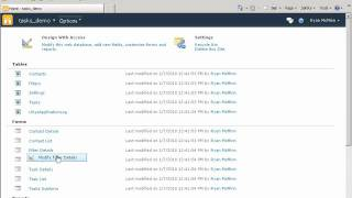 Tutorial: Publish a Access 2007 database to the web