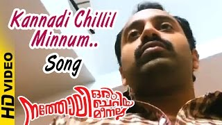 Natholi Oru Cheriya Meenalla Malayalam Movie | Kannadi Chillil Minnum Song | Malayalam Song | HD