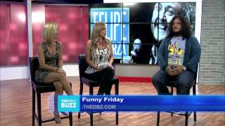 Comedian Felipe Esparza Stops By The DBZ