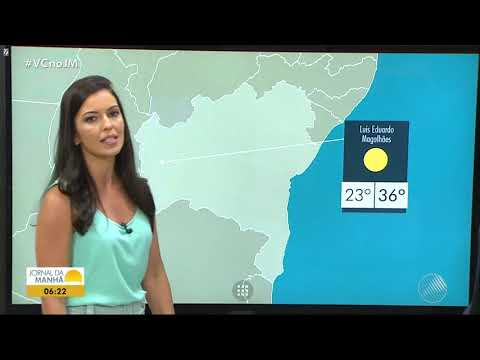 Jornal da Manha -  Globo TV Bahia HD 04/10/2018