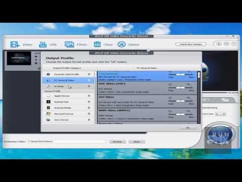 Download [How To] Use WinX HD Video Converter Deluxe Tutorial! HD Mp4 3GP Video and MP3