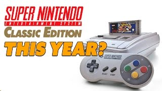 SNES Classic Edition THIS YEAR? WHY? - The Know Game News