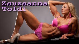 Zsuzsanna Toldi Hungarian fitness goddess (video music)