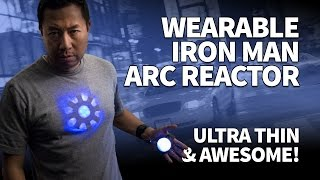 Make an Iron Man Arc Reactor for Tony Stark Cosplay – DIY Ultra Thin Wearable with LEDs