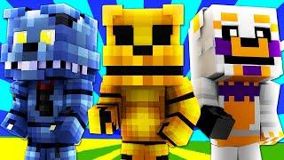 FNAF World - GOLDEN FREDDY! (Minecraft Roleplay) Night 8