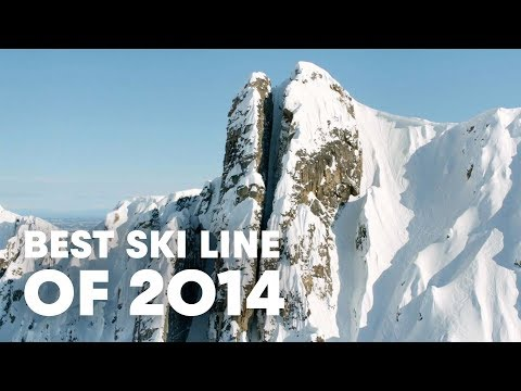 Best Ski Line of 2014 - Cody Townsend's Epic Chute