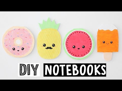 MAKING 4 AMAZING DIY NOTEBOOKS - Cute & Easy Back To School Supplies!