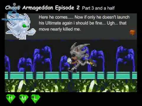 Sonic Flash Chaos Armageddon Episode 2 Part 3 Video 3 of 3