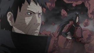 Naruto,Kakashi,Guy,B vs Obito,Madara and Ten Tails Part 4