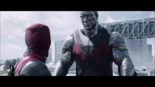 Deadpool and Colossus funny scene
