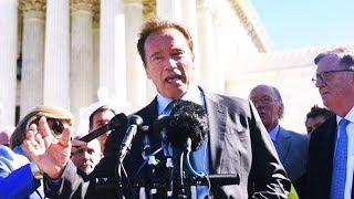 Arnold Schwarzenegger Accuses Oil Companies Of Murder